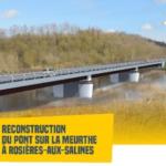 Pont de Rosières-aux-Salines fermé à partir du 3 mai